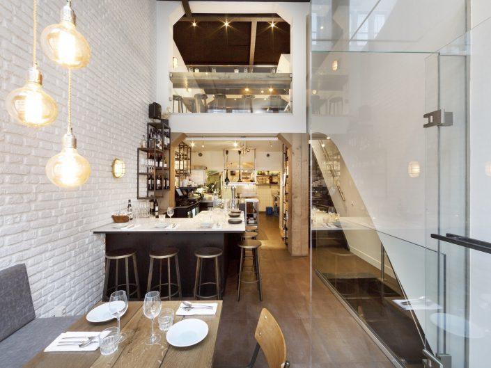 Projecten erik koijen interieurarchitectuur - Eigentijds restaurant ...