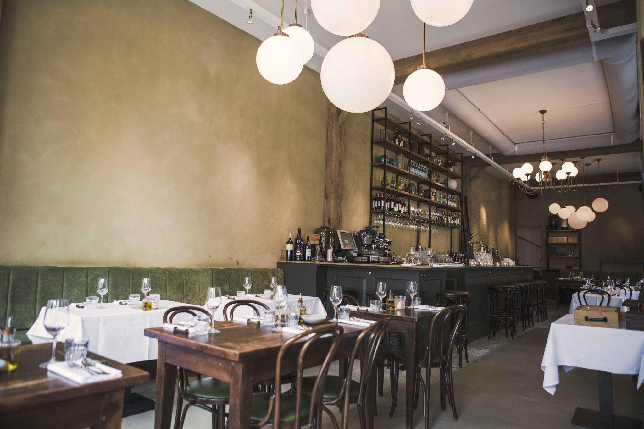 Restaurant breda u erik koijen interieurarchitectuur